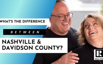 What are the differences between Nashville and Davidson County?